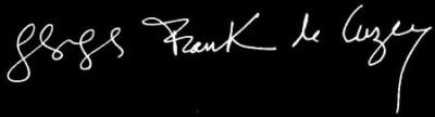 signature georges de cuzey